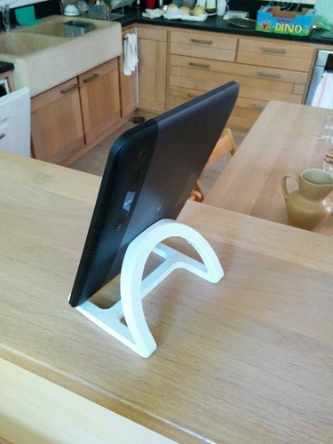 Tablet stand 3D Print 27412