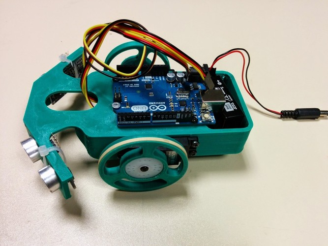 D printed arduino mobile robot by denis geral hape