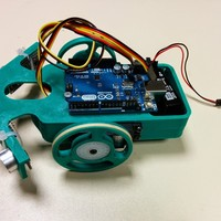 Small Arduino mobile robot 3D Printing 27420