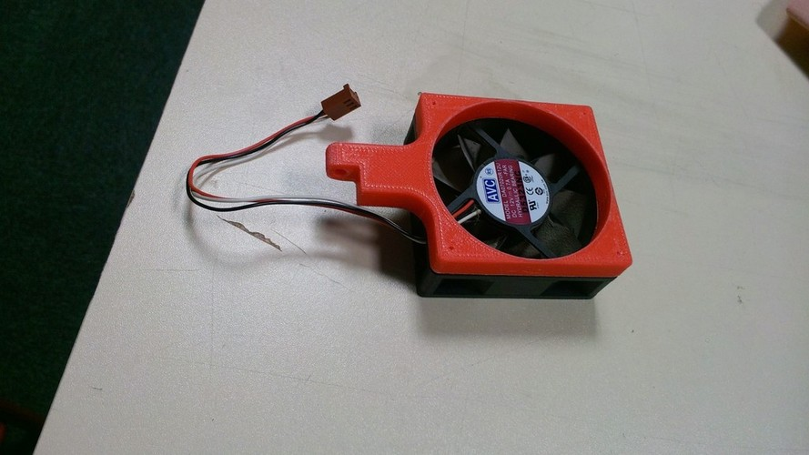 Fan mount for desktop 3D Print 27438