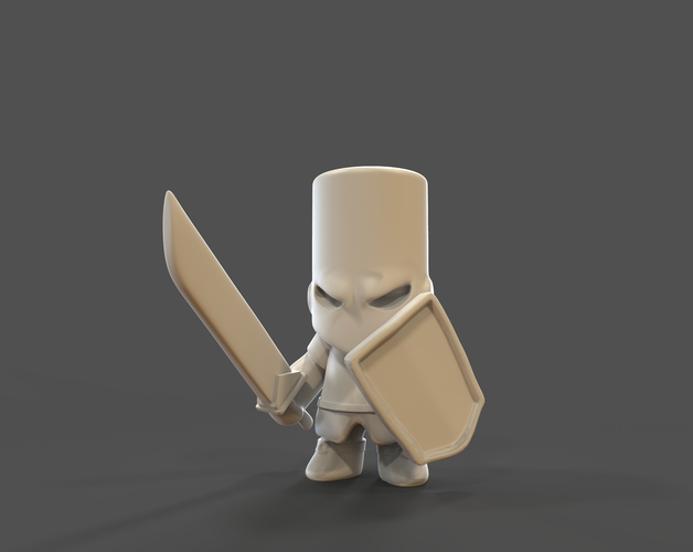 Castle Crashers Knight 3D Print 27455