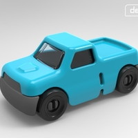 Small Gro-Truck 3D Printing 27493