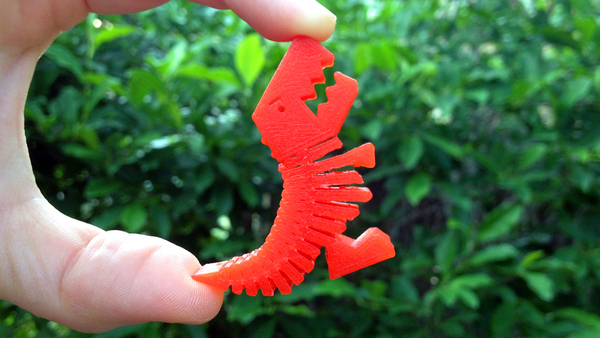 Medium Flexy Rex 3D Printing 27503