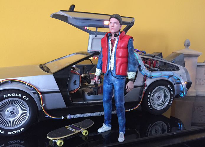 Marty McFly HQ 3Dprint 1-8 Scale 3D print model 3D Print 275160