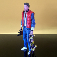 Small Marty McFly HQ 3Dprint 1-8 Scale 3D print model 3D Printing 275162