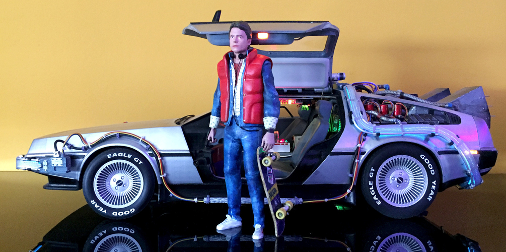 Marty McFly HQ 3Dprint 1-8 Scale 3D print model 3D Print 275164