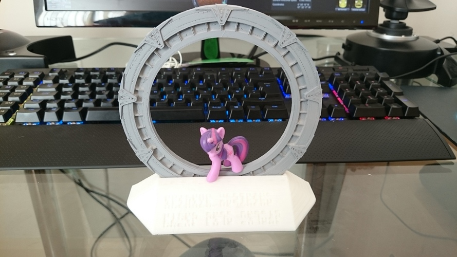 Stargate and Stand 3D Print 27525