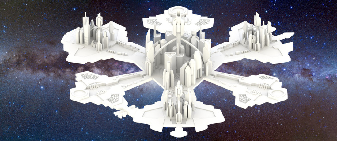 Stargate Atlantis: City of Atlantis 3D Print 27527