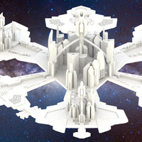 Small Stargate Atlantis: City of Atlantis 3D Printing 27527