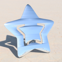 Small Star bookmark 3D Printing 275329