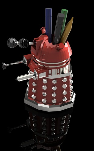 DALEK PEN HOLDER (FROM DOCTOR WHO) 3D Print 27546