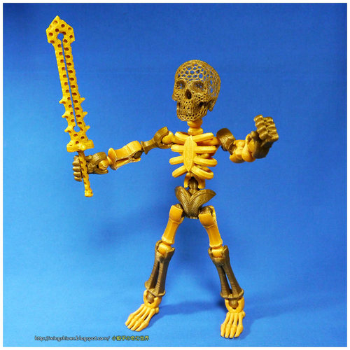 Tinkerplay Skeleton 3D Print 27588
