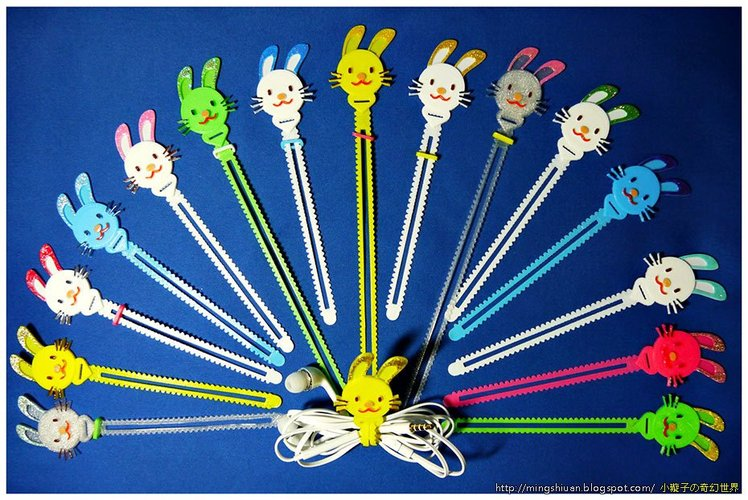 Bunny Cable Holder / Bookmarks / Keychain / Bracelet 3D Print 27623