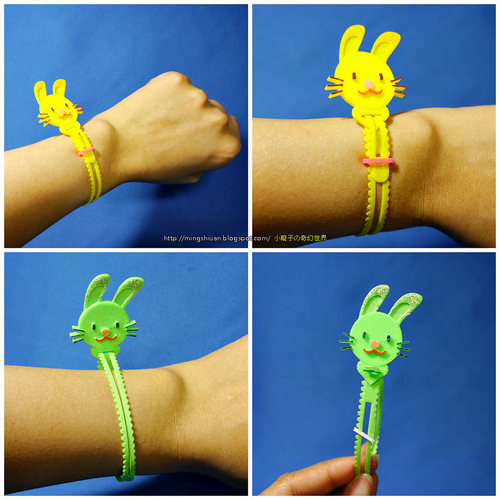 Bunny Cable Holder / Bookmarks / Keychain / Bracelet 3D Print 27630