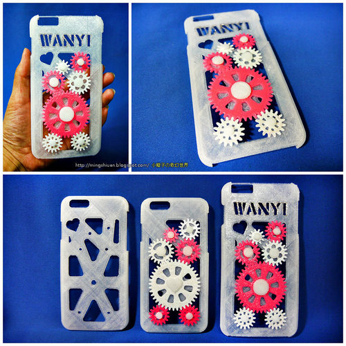 iPhone 6 & iPhone 6 Plus Gear Case 3D Print 27638