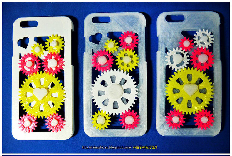 iPhone 6 & iPhone 6 Plus Gear Case 3D Print 27639