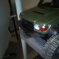 Small Killerbody LC70 TRX4 Front Bumper 3D Printing 276460