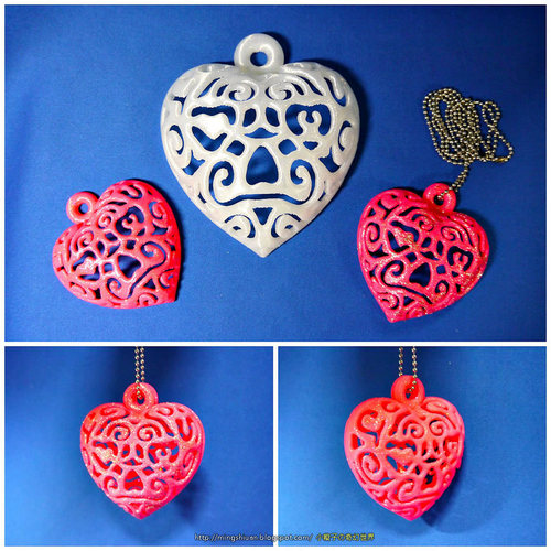 Heart Light 3D Print 27653