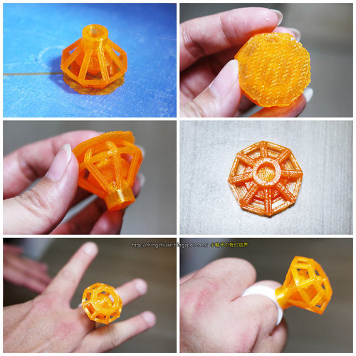 Diamond Ring 3D Print 27656