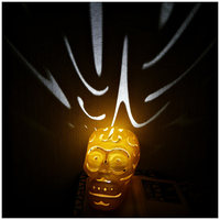 Small Halloween skull lamps 3D Printing 27702