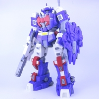 Small ARTICULATED SPACE DEFENDER (NOT ASTRO MEGAZORD) - NO SUPPORT 3D Printing 277091