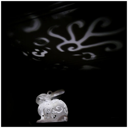 Bunny Lamps carved 3D Print 27717