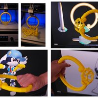 Small Cosplay-Klonoa ring 3D Printing 27730