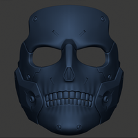 Small 3D Printing STL file Die-Hardman mask from Death Strending  3D Printing 277422
