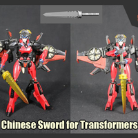 Small  Chinese Sword for Transformers  3D Printing 277659