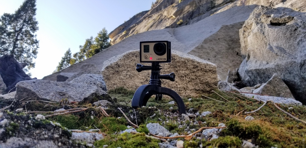 Action Camera Tripod Revamp 3D Print 277662