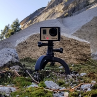 Small Action Camera Tripod Revamp 3D Printing 277662