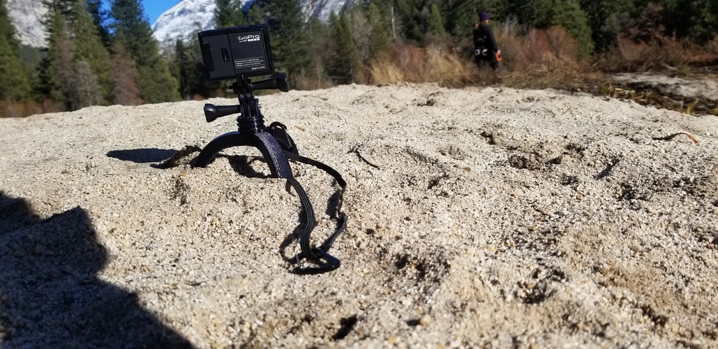 Action Camera Tripod Revamp 3D Print 277664