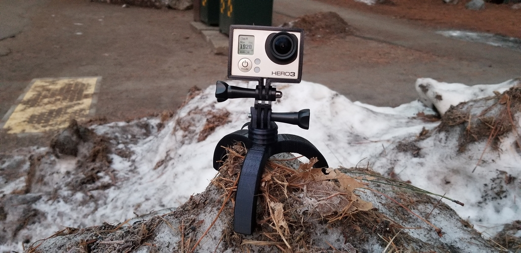 Action Camera Tripod Revamp 3D Print 277665