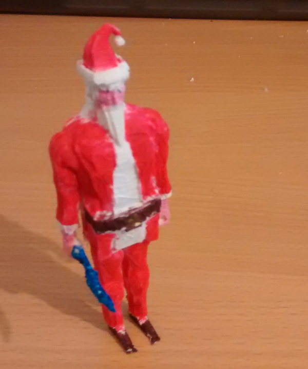 Medium Runescape Santa Model 3D Printing 27783