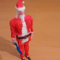 Small Runescape Santa Model 3D Printing 27783