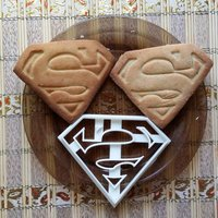 Small Superman Cookie Cutter 3D Printing 27792