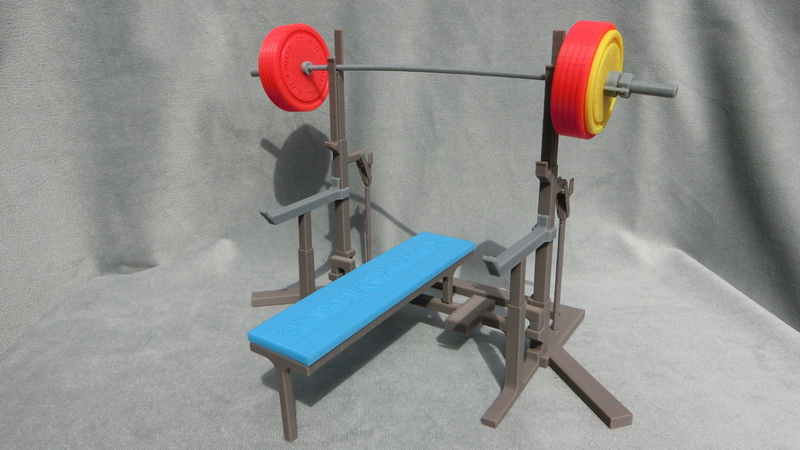 Weight Lift Bench 3D Print 27795
