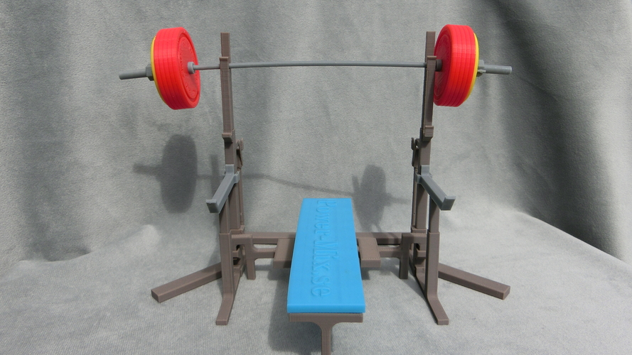 Weight Lift Bench 3D Print 27796