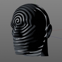 Small Spiral Face 3D Printing 277961