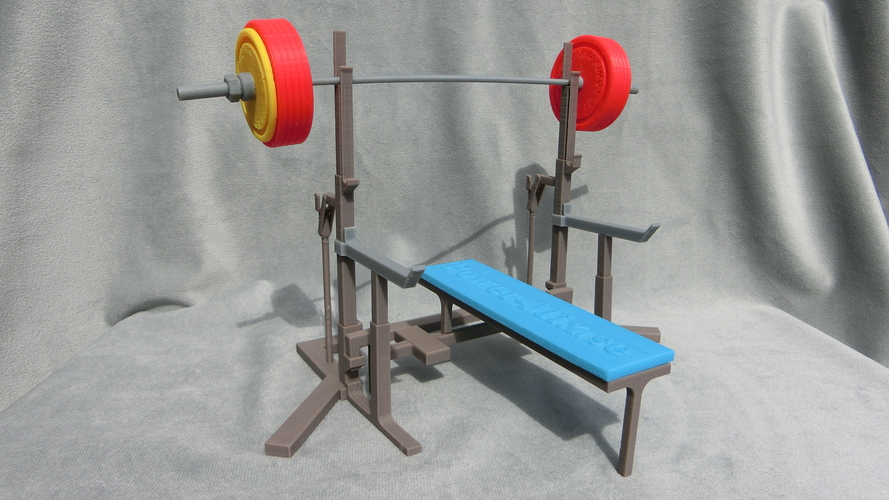Weight Lift Bench 3D Print 27797