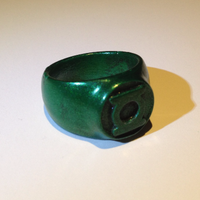 Small Green Lantern Ring 3D Printing 27803