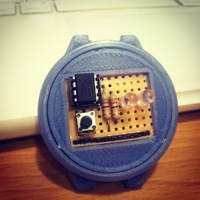 Small 3D Printed Binary Watch 3D Printing 27807