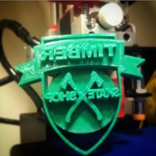 Timber Skate Shop Wax Press 3D Print 27819