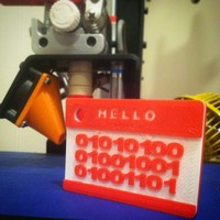 Small Hello, my name is.... 3D Printing 27820