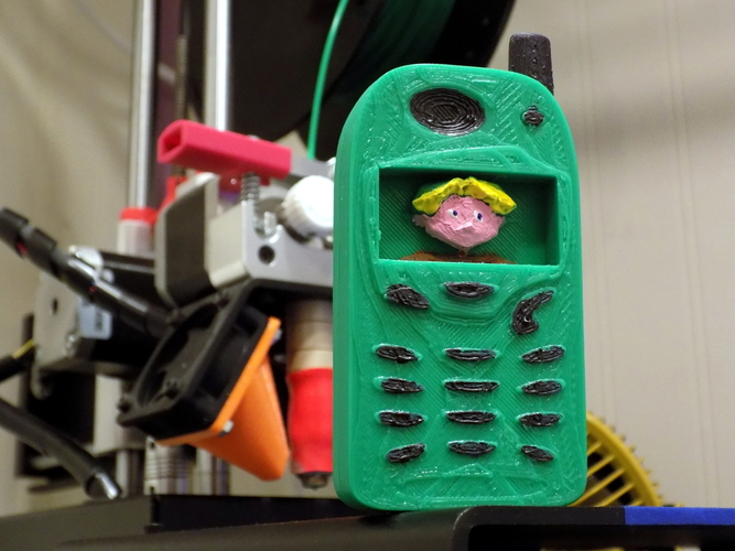 Legend of Zelda themed toy phone 3D Print 27824