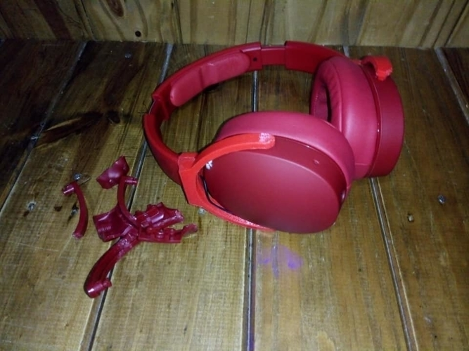 Hesh 3 headphones repair parts, repuestos auriculares hesh 3 3D Print 278262
