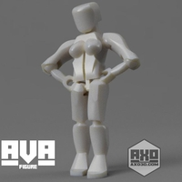 Small AVA - Action Girl 3D Printing 278381