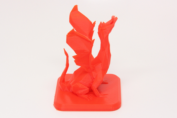 Medium Low Poly Dragon 3D Printing 27850