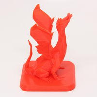 Small Low Poly Dragon 3D Printing 27850