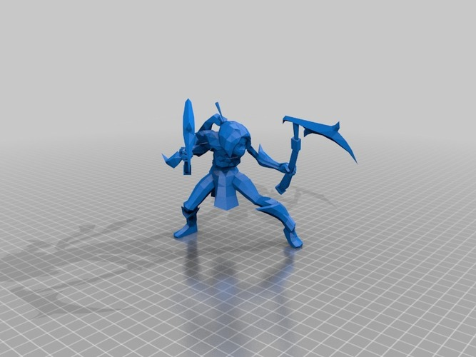 Akali–the Fist of Shadow 3D Print 27853